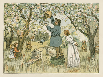 Bee-Farmer' from E. V. Lucas's, 'Four and twenty toilers',London: Edmund Evans; Grant Richards, [1900]