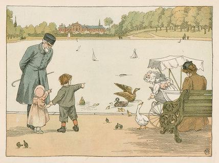 Park-Keeper', from E. V. Lucas's, 'Four and twenty toilers', London: Edmund Evans; Grant Richards, [1900]