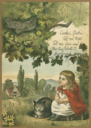 The Cuckoo has come! from  Eleanor Vere Boyle's 'A New Child's Play', London: Sampson Low, Marston, Searle, and Rivington, [1879]