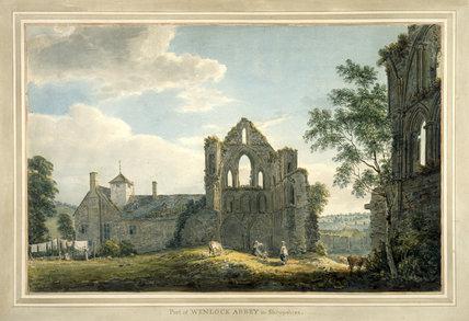 Wenlock Abbey, Shropshire