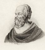 Socrates, from &#039;Crabbes Historical Dictionary&#039;, published in 1825 