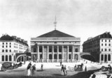The Theatre de l&#039;Odeon, c.1830  