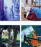 Illustrations for Beauty and the Beast