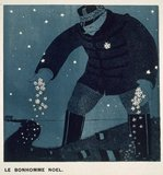 The Christmas Snowman, from &#039;Le Mot&#039;, 1914-18 