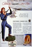 'Picture of a 'Debutante'...1943 Style', World War Two advertisement, 1943
