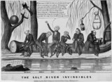 The Salt River invincibles, published by John Childs, New York and Washington, c. 1840,