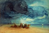 Storm on Yarmouth Beach, 1831