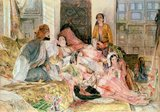 The Harem, c.1850