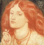 Portrait of Elizabeth Siddal , 1860