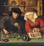 The Money Lender and his Wife, 1514