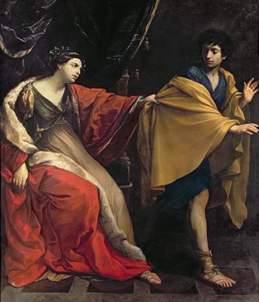 Joseph and Potiphars Wife, c.16...