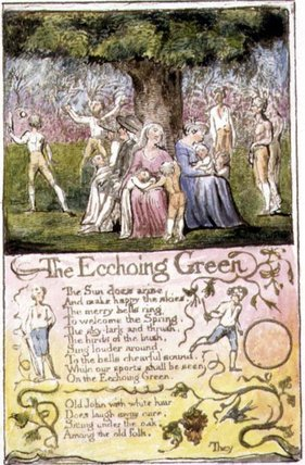 The Garden of Love by William Blake