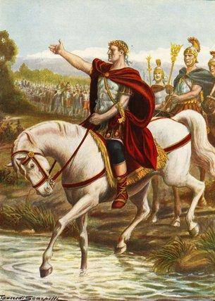 Julius Caesar In Battle Julius Caesar In Battle