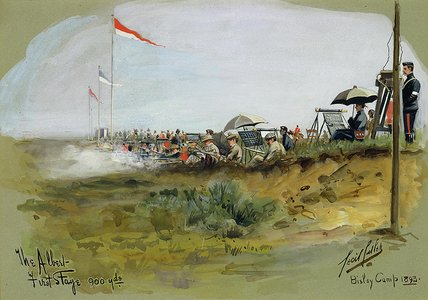 The Albert - First Stage, 900 yards, Bisley Camp, 1893