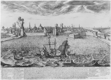 View of La Rochelle