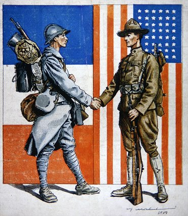 us entry into world war one Us entry into wwi in sacrifice for liberty and peace  and dissemination of information about events and plans for the centennial of the first world war events.