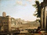 The Campo Vaccino, Rome