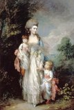 Mrs Elizabeth Moody with her sons Samuel and Thomas