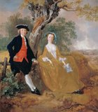 A Couple in a Landscape