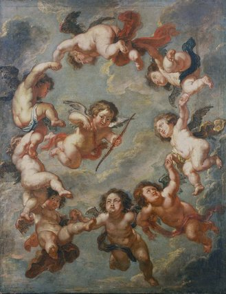 Putti: a ceiling decoration