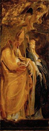 Saints Amandus and Walburga; Saints Catherine of Alexandria and Eligius