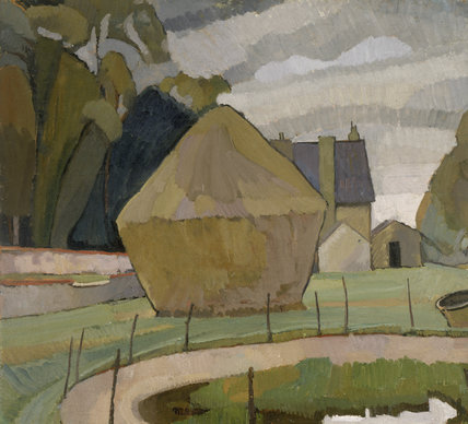 Landscape with Haystack, Asheham, 1912