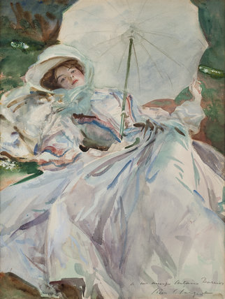 The Lady with the Umbrella