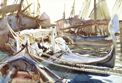 Sketching on the Giudecca