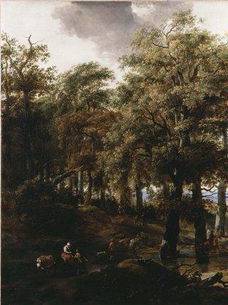 A Road through a Wood