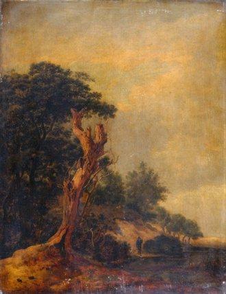 Landscape in imitation of Jacob Ruisdael