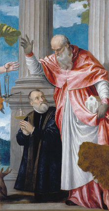 St Jerome and a Donor