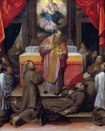 The Last Communion of Saint Francis