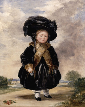 Princess Victoria aged Four
