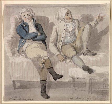 Noel Desenfans and Sir Francis Bourgeois