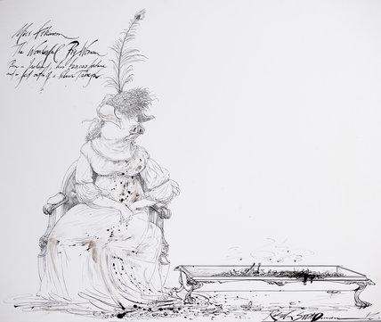 Miss Atkinson - The Wonderful Pig-Woman
