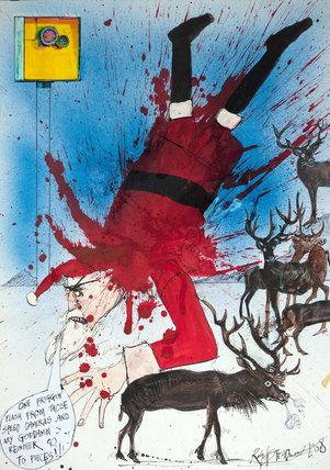 Santa gets snapped