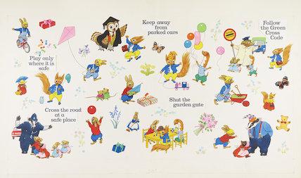 Tufty & Balloons