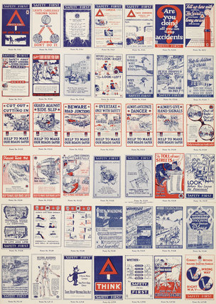 Safety First - Catalogue of Posters Published by NSFA