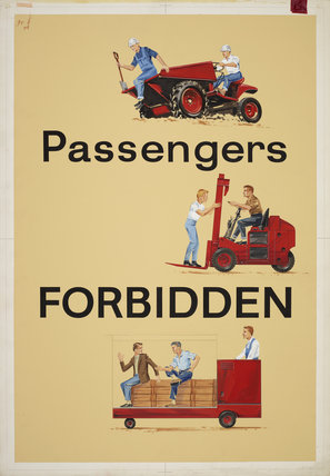 Passengers Forbidden
