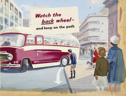 Watch the Back Wheel And Keep on the Path