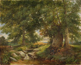 A Trout Stream near Worcester