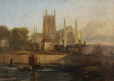 Worcester Cathedral, River Severn