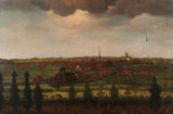 View of Worcester in the Late 18th Century