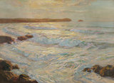 Summer Sea, Newquay, Cornwall