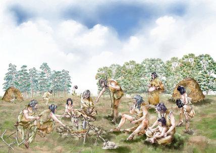Mesolithic settlement