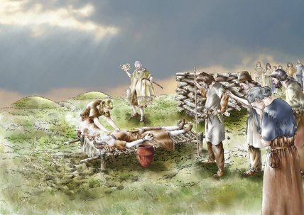 Bronze Age funeral