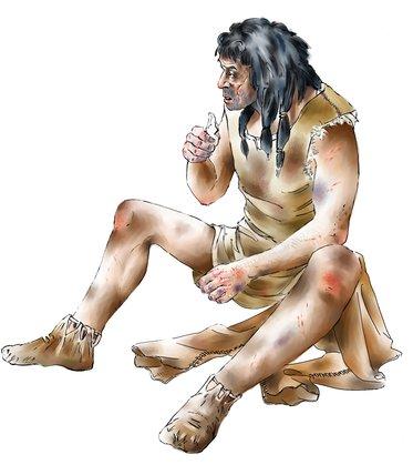 Mesolithic man