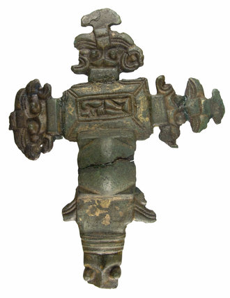 Anglo Saxon cruciform brooch from Upton Snodsbury