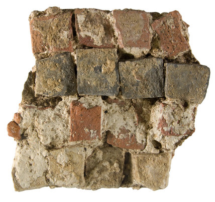 Roman mosaic fragment