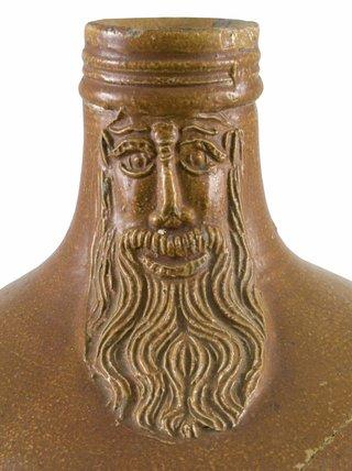 Detail of Bellarmine/Bartmann jug
